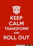 Keep Calm Transformers
