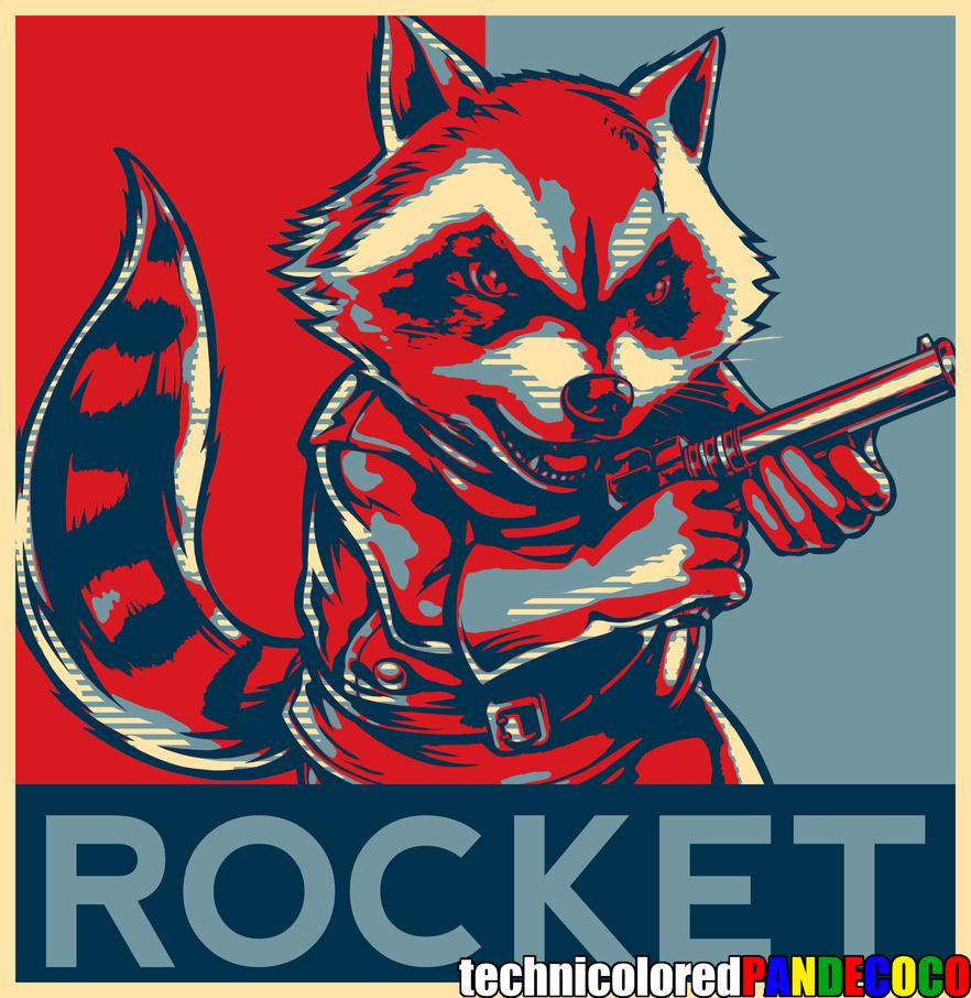 Rocket Raccoon By Jokerjester Campos