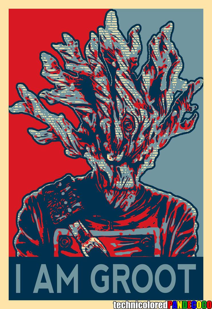 I Am Groot I Am Groot by jokerjes...