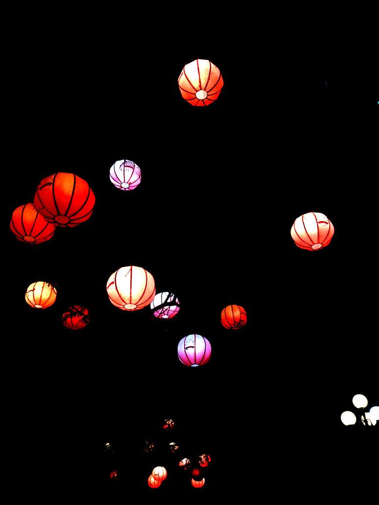Lanterns, lanterns, lanterns by jokerjester-campos