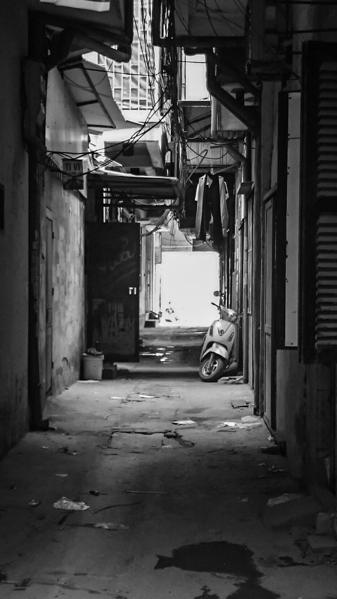 Hanoi Alley by jokerjester-campos