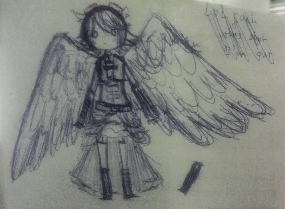 (Doodle) Appolyon Hunter by Otakutsundere-2000