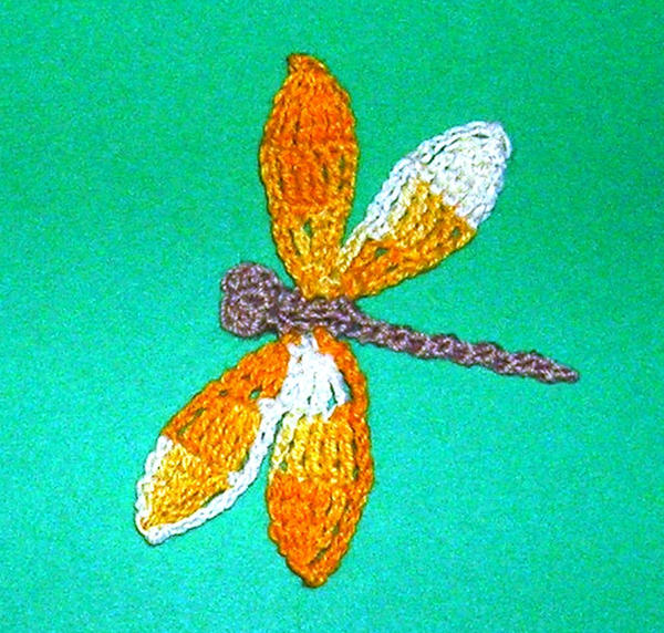 Crocheted Dragonfly By Penfury On Deviantart