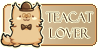 TeaCat Lover stamp by Paxerle