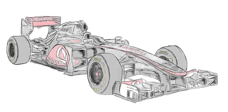 Vodafone McLaren 2012 F1 Car by sikelsh on DeviantArt
