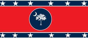 The Carolina Confederacy Flag (Improved)