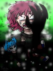 Sally Face- Reaching for Help by kurichakira