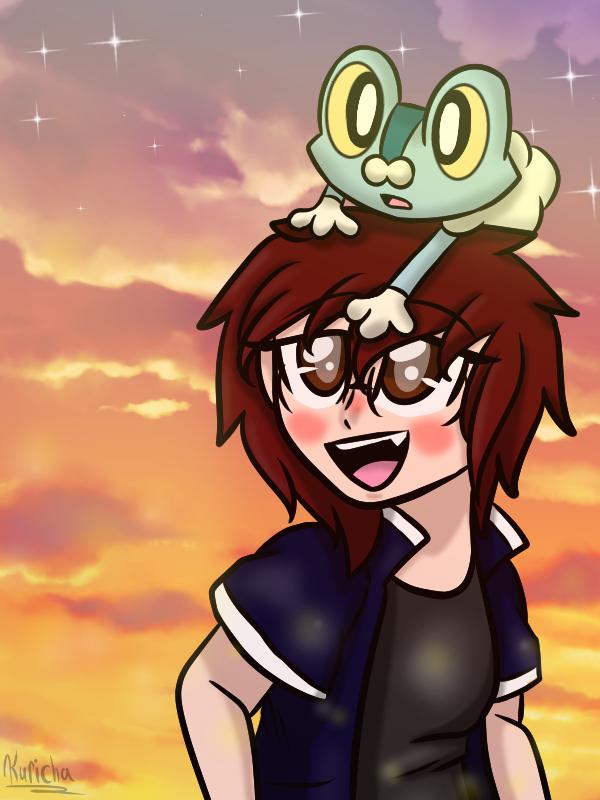 Pokemon Y- Starter by kurichakira