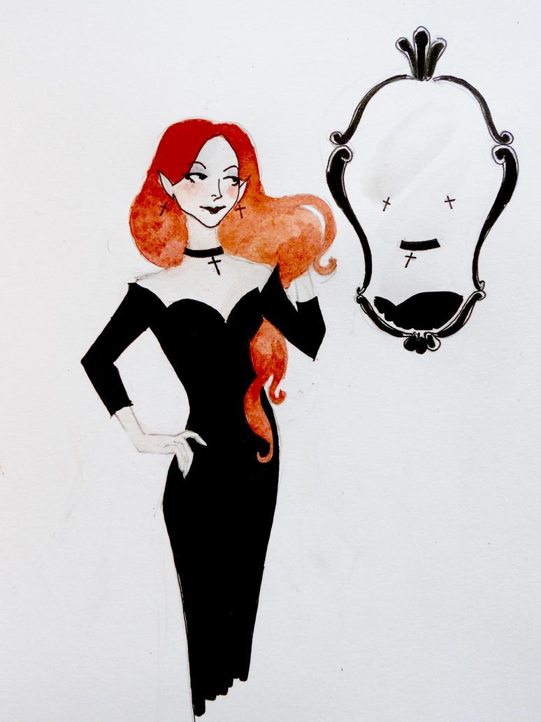 Mrs Dracula by Flatterzunge