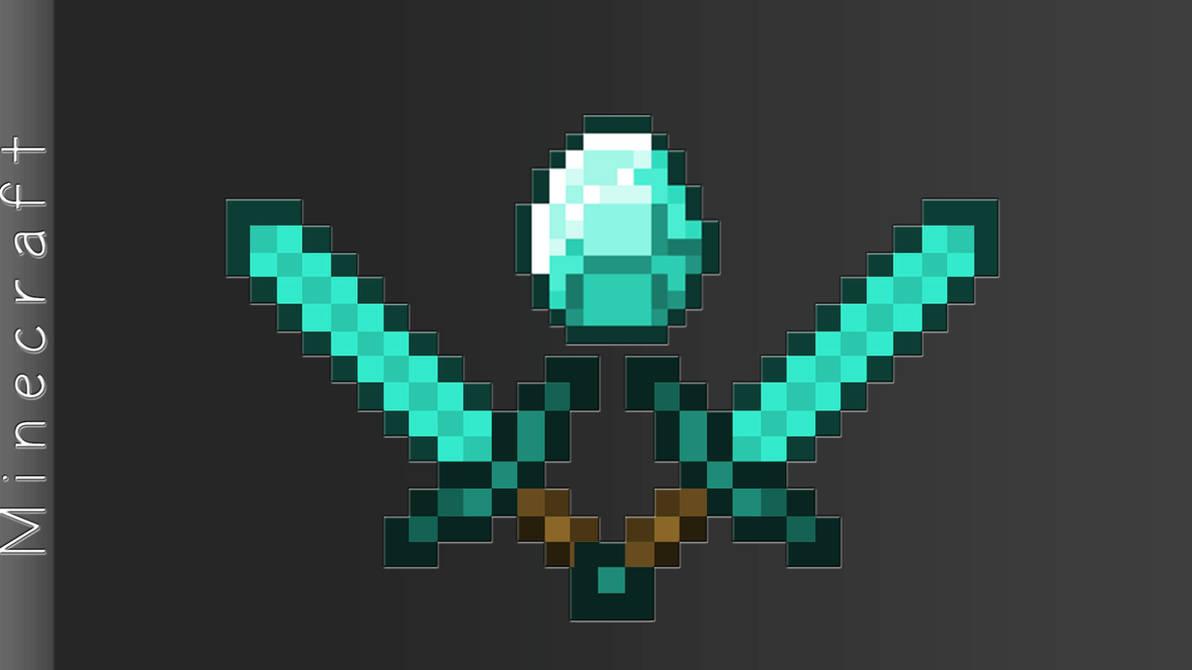 Minecraft Diamond By Slurpeemonster-d5ltffq by DanielJBoruff