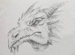 Quick Sketch of a dragon