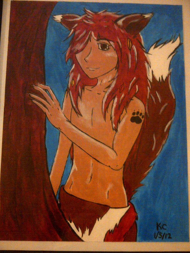 Foxy Boy by KatM0nster