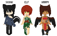 Small Pixel Adopts by Kitsune-no-Suzu