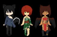 Small Pixel Adopts by Kitsune-no-Suzu