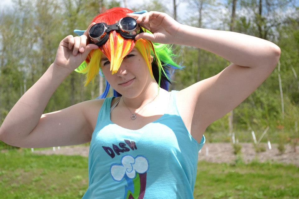 WIndy Rainbow Dash by SparklesStorm