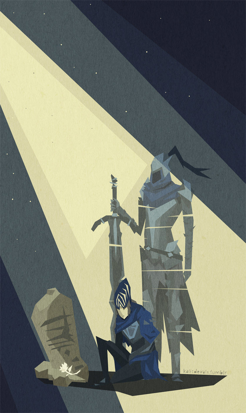 Memory of Artorias - Dark Souls by kris-in-the-shell