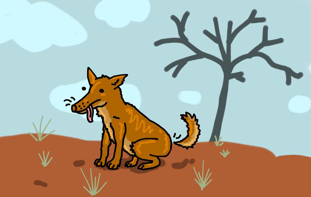 Dingo by Gasmaskmax