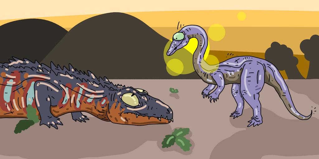 Nyasasaurus by Gasmaskmax