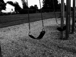 A Playground Fading I by NostalgiaPhotos