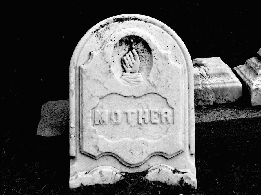 A Mother's Gravestone by NostalgiaPhotos