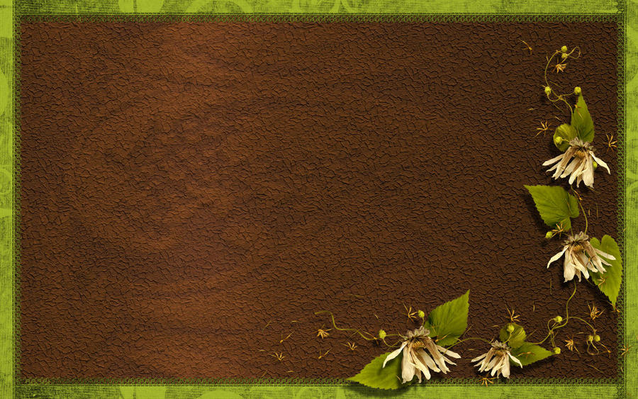 Brown Green Power By Marakigr On DeviantArt - Green and brown wallpaper