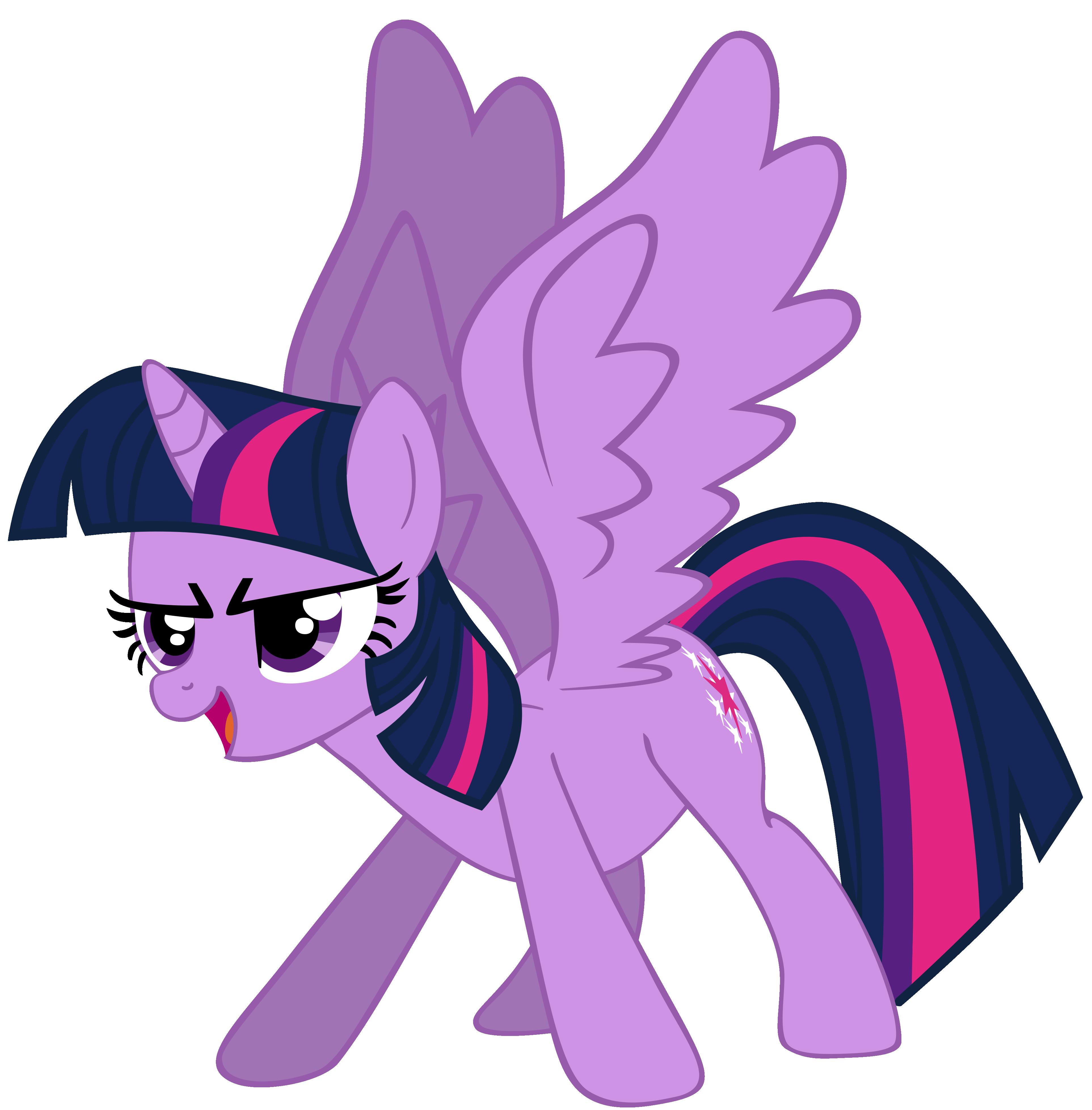 My very first Twilight Sparkle, version 4. by Flutterflyraptor