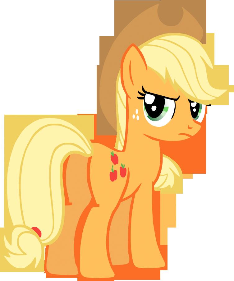 Applejack, being cool. by Flutterflyraptor