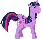 My first Twilight Sparkle vector, G1 version.