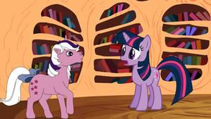 Twilight Sparkle, meets Twilight.