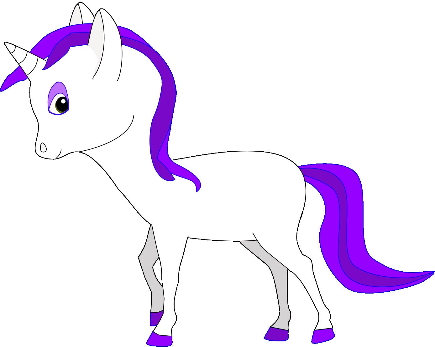 My third unicorn vector. by Flutterflyraptor