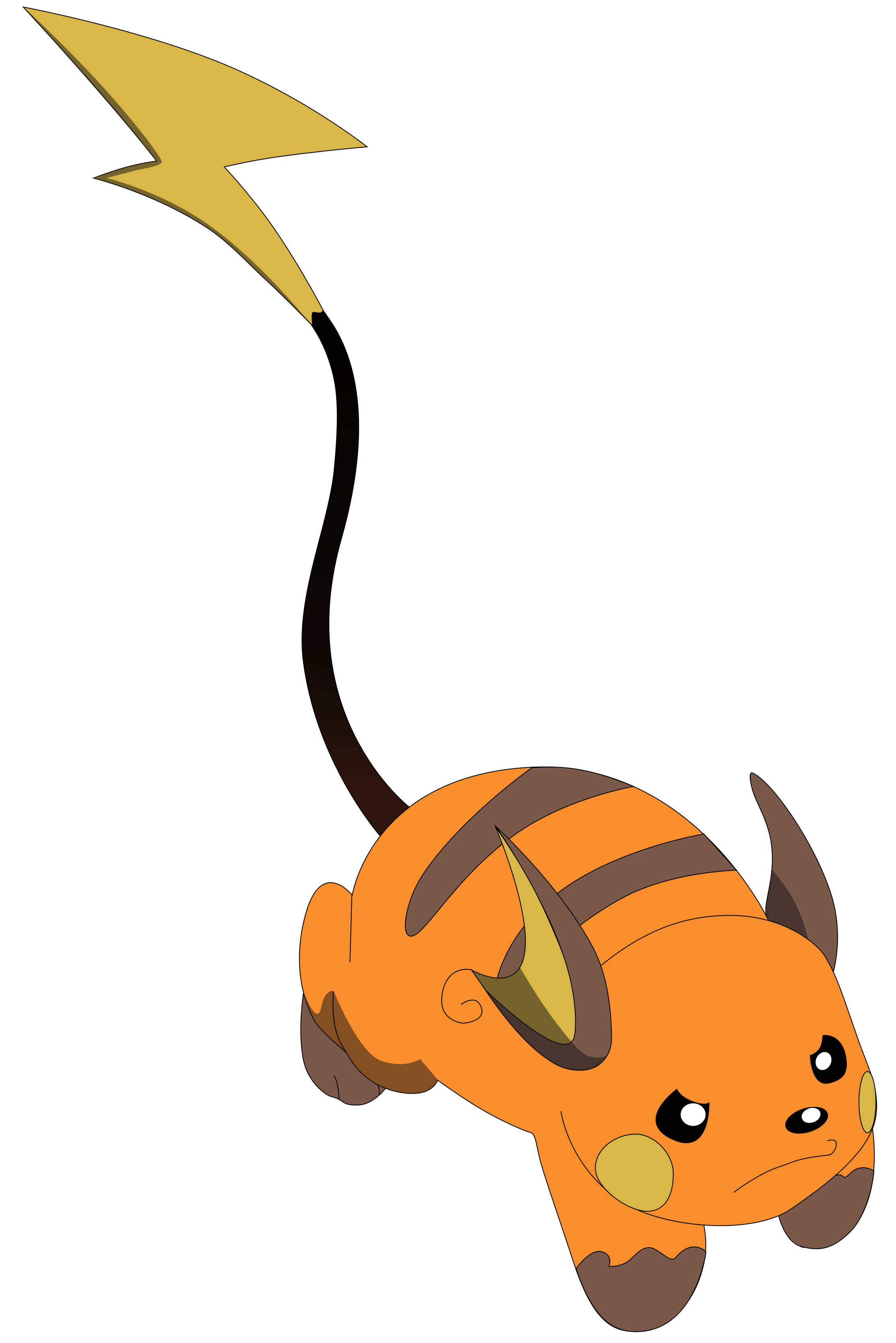My third vector of Raichu. by Flutterflyraptor on DeviantArt