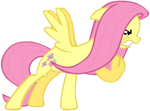 My sixth Fluttershy vector, updated version.