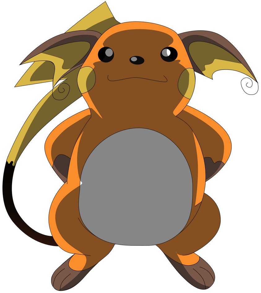 My sixth vector of Raichu. by Flutterflyraptor