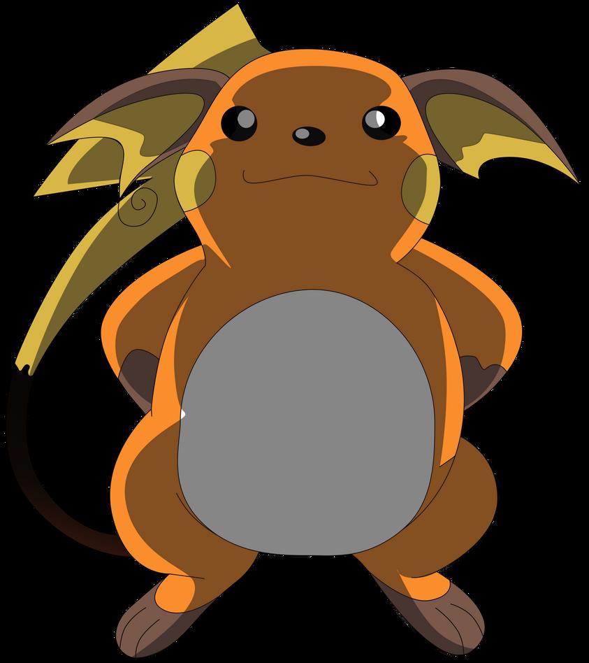 Pikachu ou Raichu My_sixth_vector_of_raichu__by_flutterflyraptor-d5q3nzl