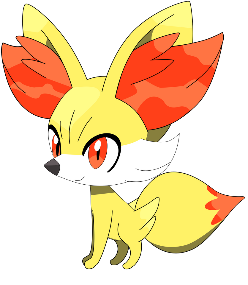 Pokemon Fennekin Coloring Pages - More information - Djekova