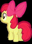 My third vector of, Apple Bloom.