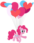 My first vector of Pinkie Pie.