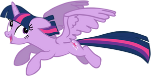 My seventh vector of, Twilight Sparkle.
