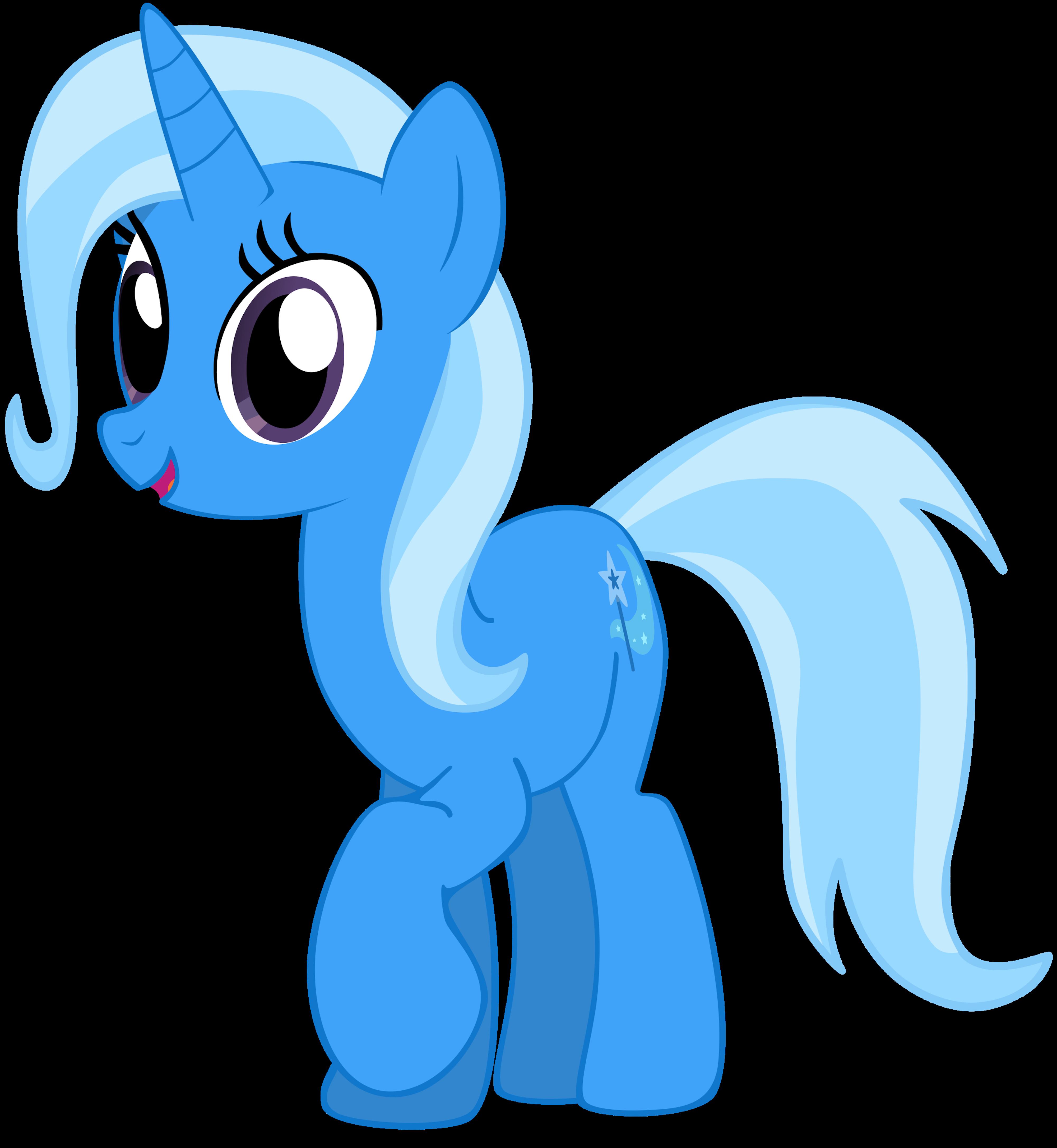 My third vector of Trixie. by Flutterflyraptor
