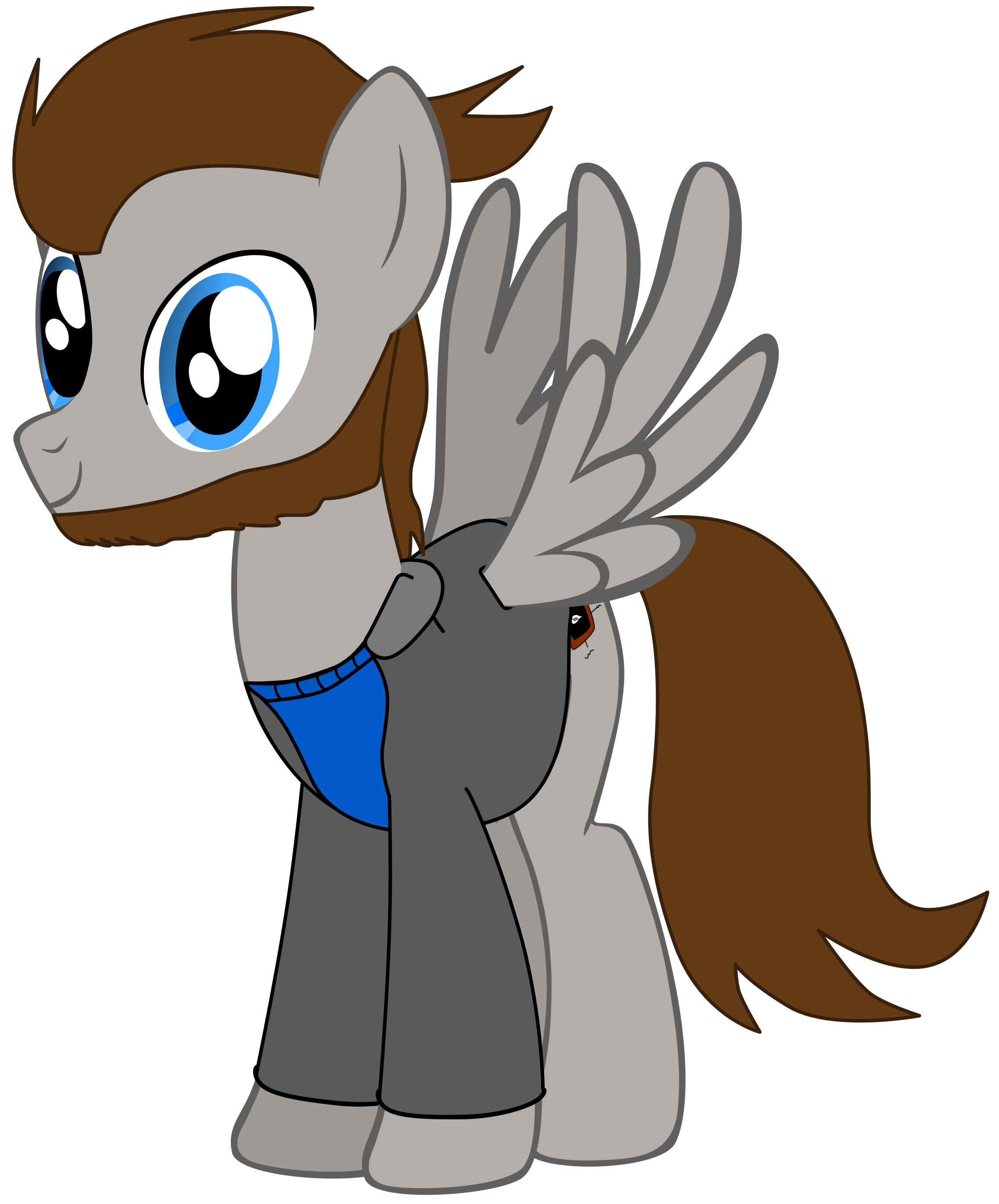 My first vector of, Mr. E. Version four. by Flutterflyraptor