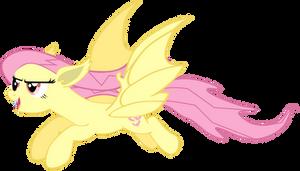 Flutterbat by Flutterflyraptor