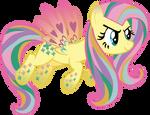 My first vector of, Rainbowshy. by Flutterflyraptor