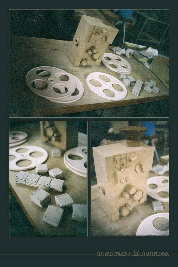 making of camera by ariencarnesir