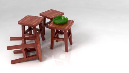 stool by ariencarnesir