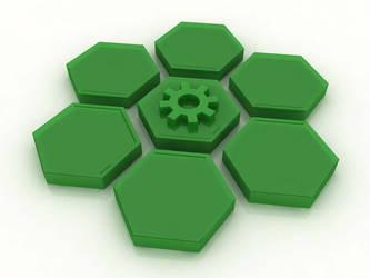 hexagon by ariencarnesir