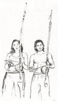 capoeira by ariencarnesir