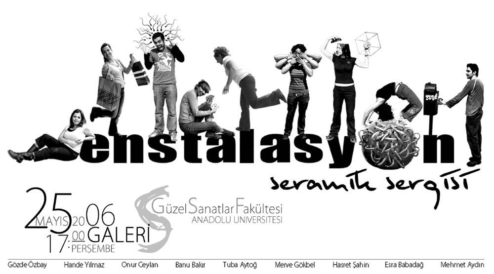 enstalasyon exhibition