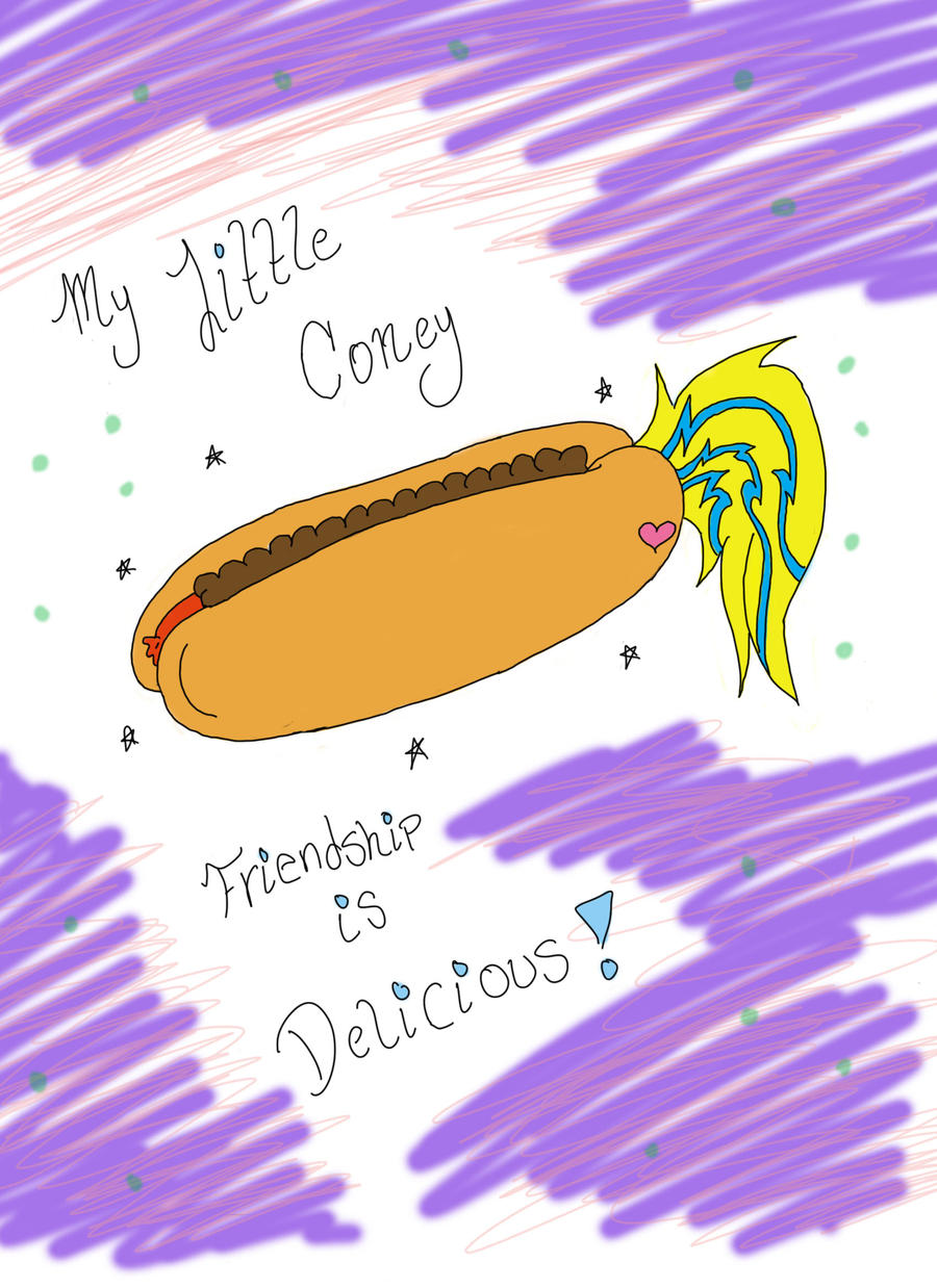 My Little Coney by Stripes-the-Raccoon