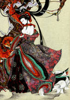 The elder sister by john-n-mary