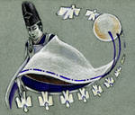 Twelve shikigami dancing